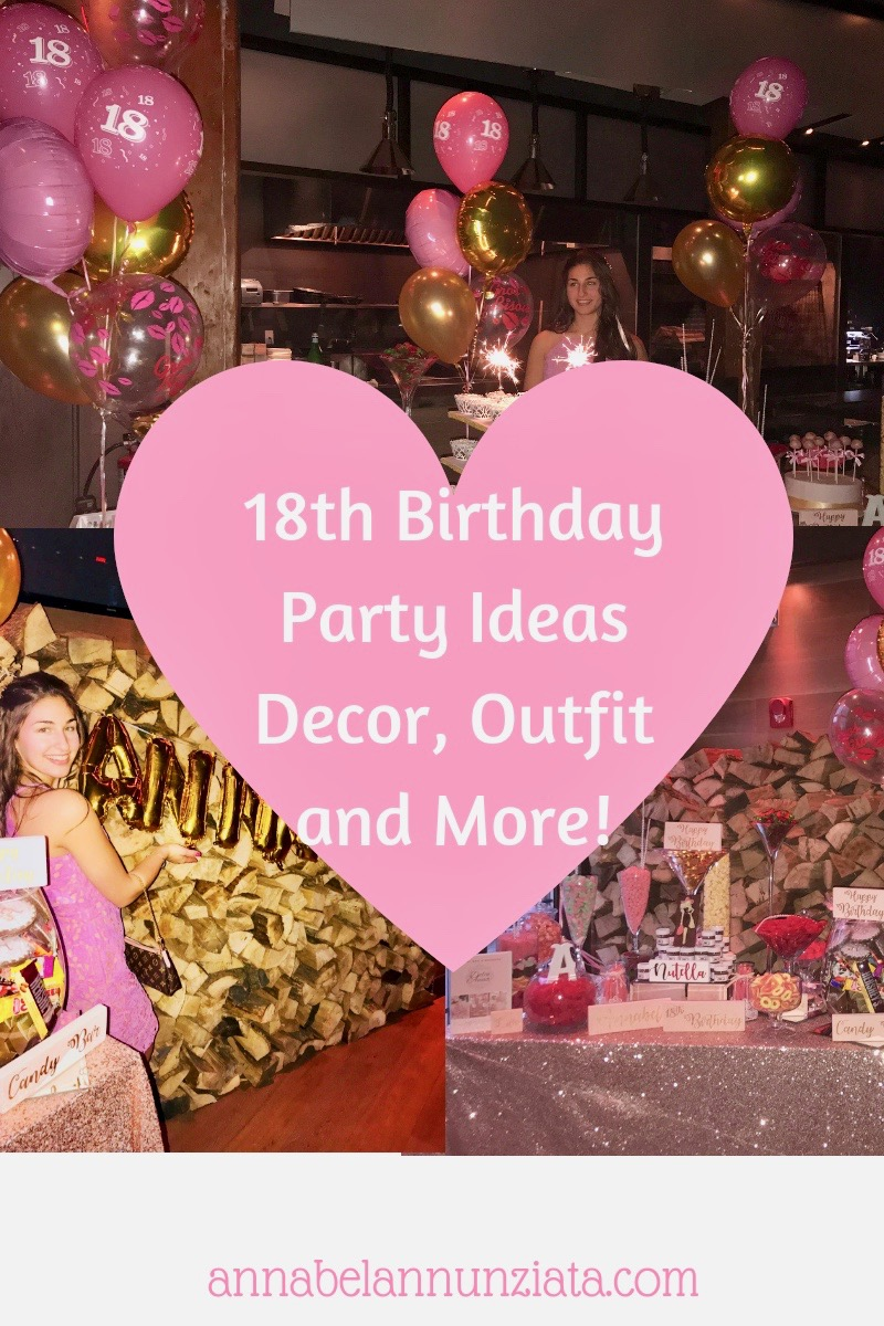 Girly 18th Birthday Party Ideas